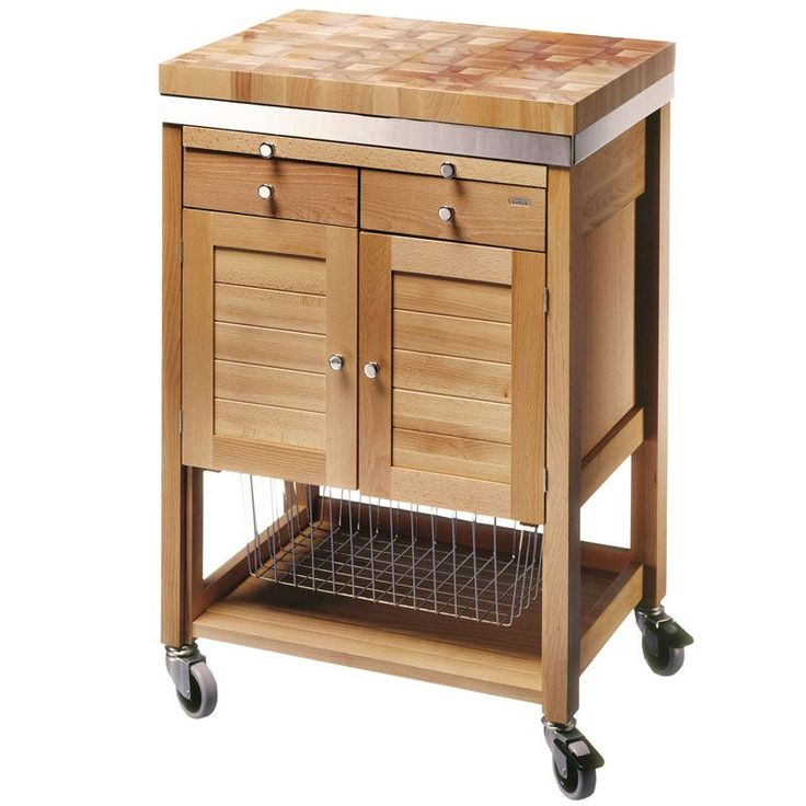 17 best images about butcher 39 s blocks on pinterest for Designs of kitchen trolleys