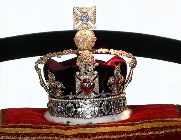Crowning glory: The Imperial State Crown
