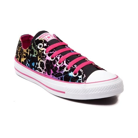 Shop for Converse All Star Lo Sneaker in Black pink at Journeys Shoes. Shop  today