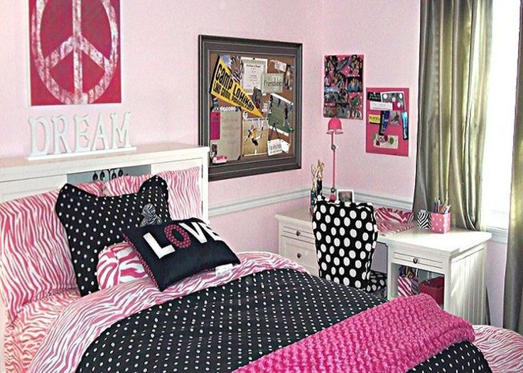 Simple And Girly Teenage Rooms Ideas Bedrooms
