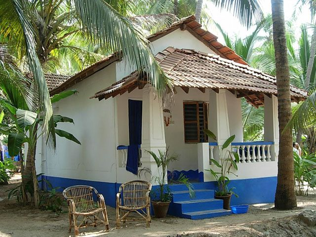 """Small"" Goan house in Morjim village."