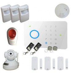 Alarme Maison sans fil GSM 3/4 pièces 100% sécurité