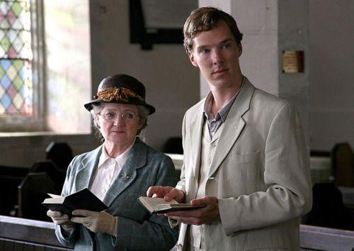 ITV Marple's ~ Murder is Easy with Benedict Cumberbatch as Luke Fitzwilliam :)