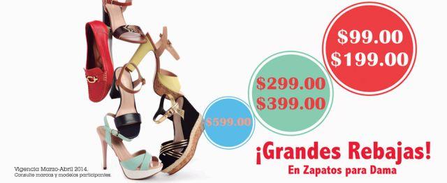 ¡Grandes Rebajas! en Zapatos para dama, en Sears.