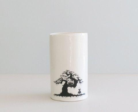 """Vase XL """"Alice - cat"""" sort"""