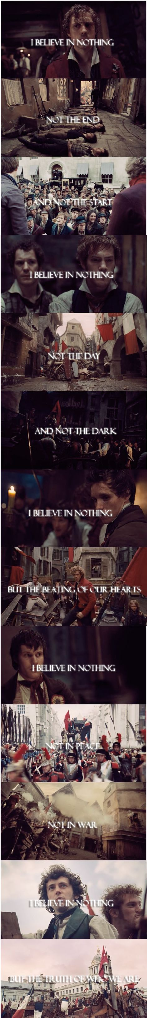100 Suns, 30 Seconds to Mars and Les Mis. This just screams Grantaire.