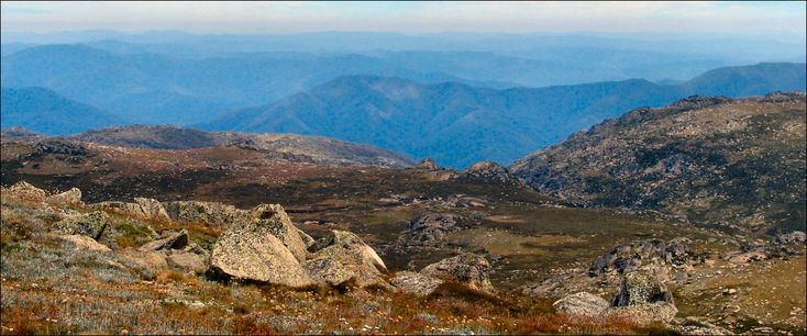 Australia's highest mainland mountain, Mount Kosciuszko... beautiful throughout the year... magnificent panorama...