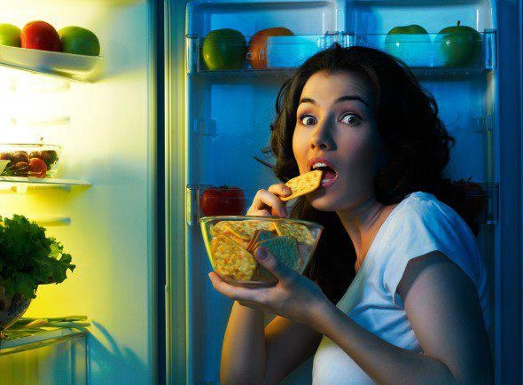 Emotional eating, overeating, or binge eating. What's your midnight snack?