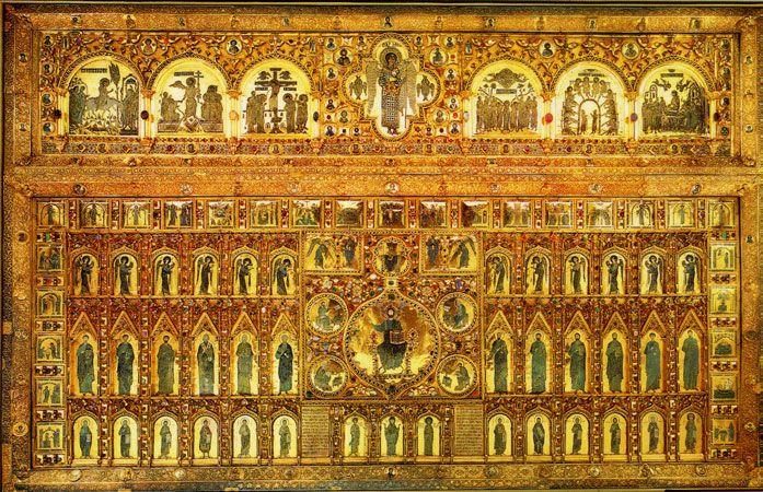 pala d 39 oro het beroemde van edelstenen voorziene