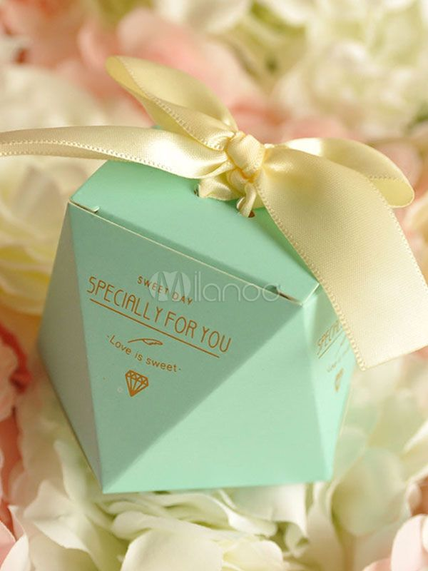 Wedding Favor Boxes 12 Pcs Small Gift Candy Box Bows Birthday