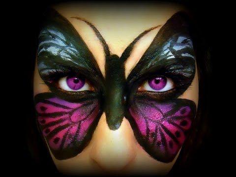 Tutorial Trucco viso Farfalla - VideoTrucco