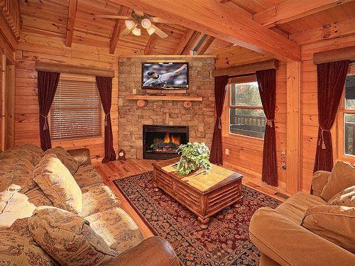 Southern Comfort 1 Bedroom Luxury Gatlinburg Cabin Rental 1 Bed