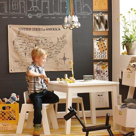 30 Cute and Fun Kid's Room Lightning Ideas - krzesło