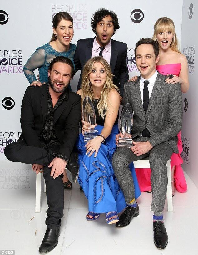 The Big Bang Theory at the 2014 People's Choice Awards