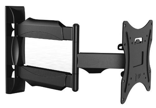 """Invision® TV Wall Mount Bracket - New Slim Line Design With Cantilever Arm Tilt & Swivel Feature For Most 26"""" - 42"""" TV Screens, Fits LED, LCD & Plasma, Max VESA 200mm x 200mm (Please Check TV VESA Mounting Holes Before Purchase) InVision http://www.amazon.co.uk/dp/B003W5R9P4/ref=cm_sw_r_pi_dp_Yb2Mtb037ATDBP0N"""