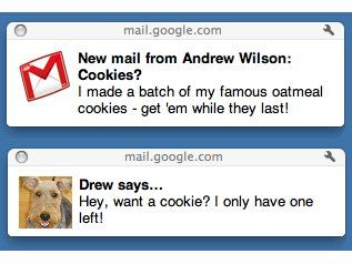 Google adds HTML5 alerts to Chrome for Gmail and Gtalk