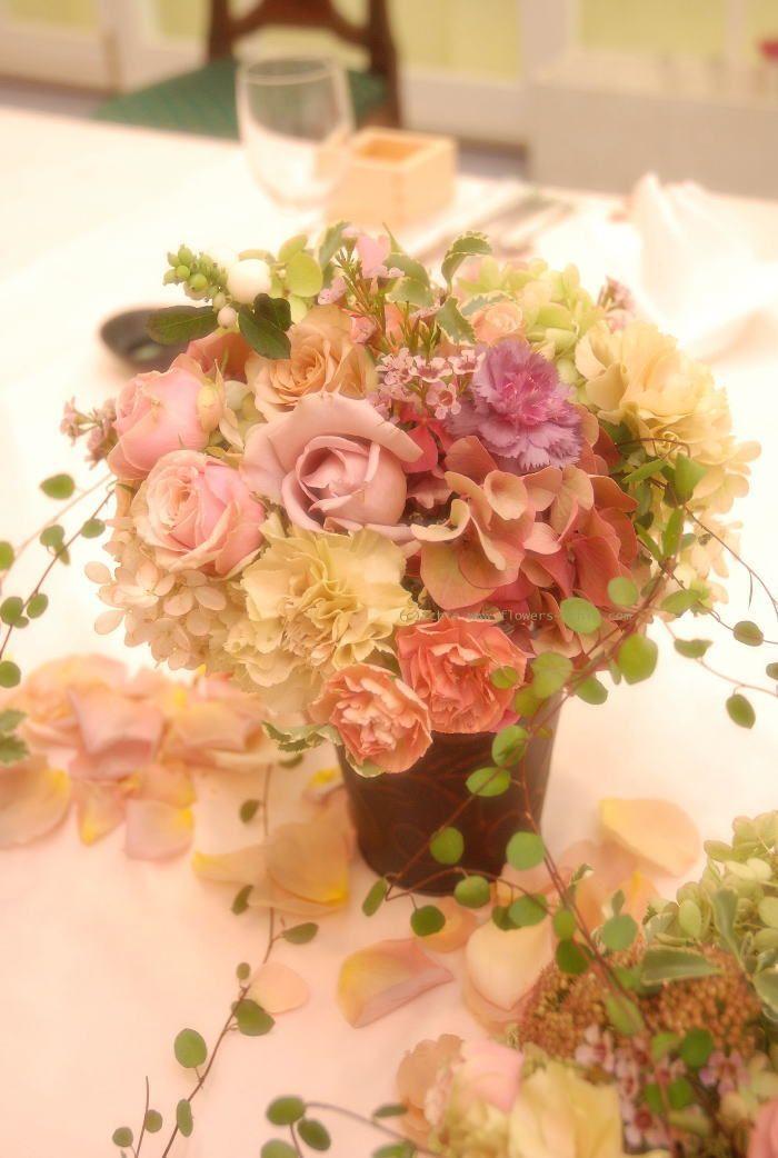 一会 ウエディングの花