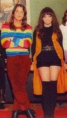 Robbie Van Leeuwen and Mariska Veres of The Shocking Blue, early 1970′s