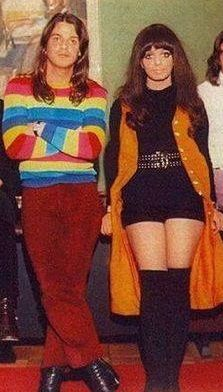Robbie Van Leeuwen and Mariska Veres of The Shocking Blue, early 1970′s