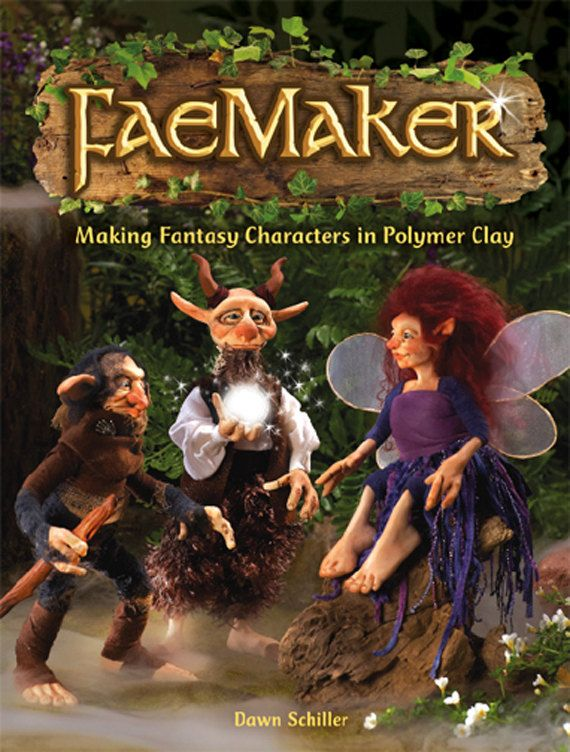 Awesome Doll Maker! ---> FaeMaker  Making Fantasy Characters in Polymer Clay by oddfae, $25.00