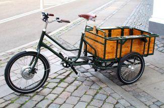 movE Electric Cargo Bike Focuses On Functionality Satisfaction and Pleasures