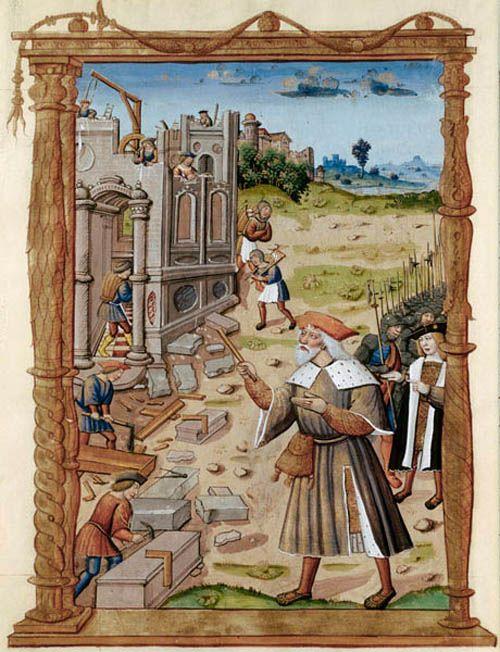 83 best fonti iconografiche cantiere medievale images on - Carpinteros en santiago de compostela ...