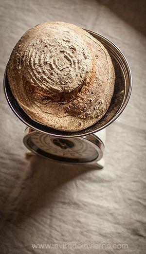 Cómo hacer pan con masa madre. Proporciones y proceso | El Invitado de Invierno