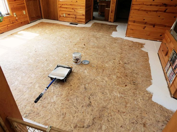 Painted Plywood Subfloors | Painted Plywood Floors Revisited