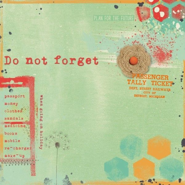 Dare #412 - Credits: A New Tomorrow by Amanda Yi Designs, Enjoy Today Messy Paints by Amanda Yi Designs, Detox collab by Lynnemarie and Michelle Godin, Beginning by Paula Kesselring.