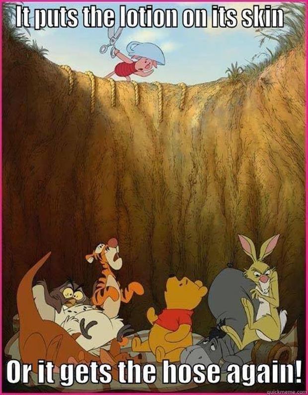 d8fa73fc2af14b300096f8715dbefc89 dark disney piglets 290 best pooh images on pinterest pooh bear, eeyore and friends,Pooh And Piglet Meme