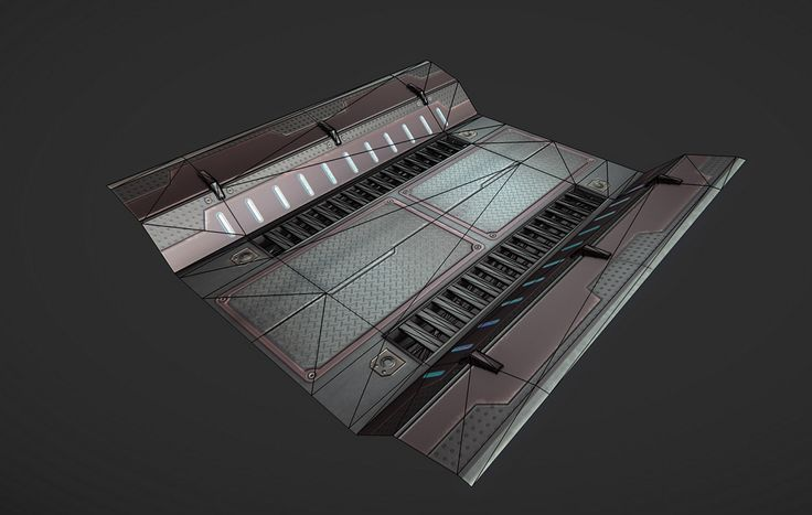 Sci Fi Bridge/Floor