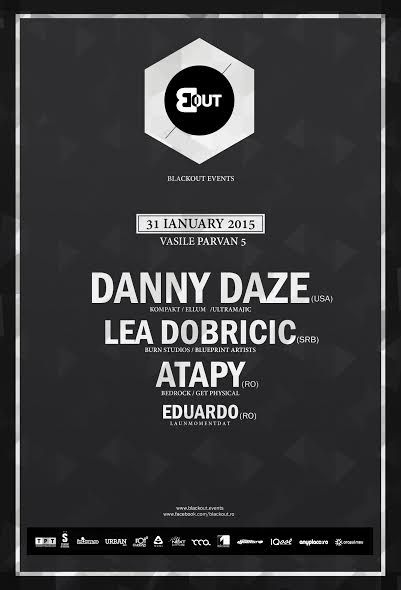 One of the best parties Timisoara ever had.  Danny Daze, Lea Dobricic, Atapy, Eduardo