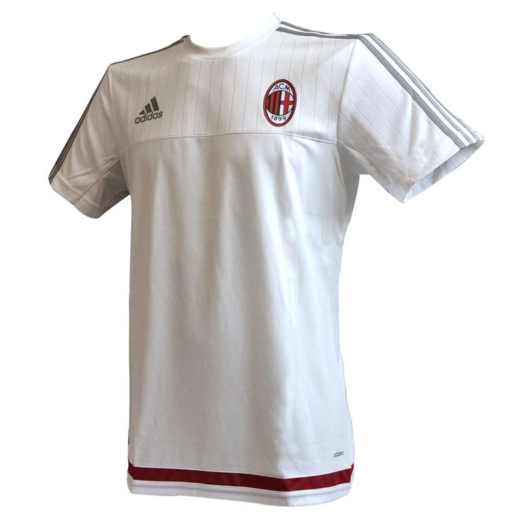 Milan Maglia Allenamento Bianca 2015-16