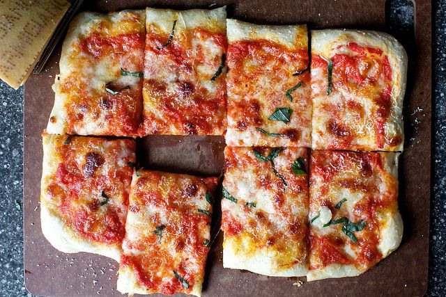 Raise your hand if you never get pizza right when you make it at home — that the dough doesn't rise in the time the recipe says it should or it's impossible to roll out; or that y…