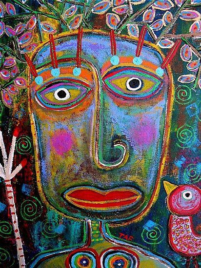 Tracey Finley - Blog: New Funky ART Paintings