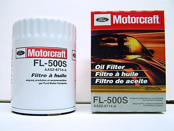 Motorcraft Oil Filter Fl 500s This Oil Filter Fits Many Ford