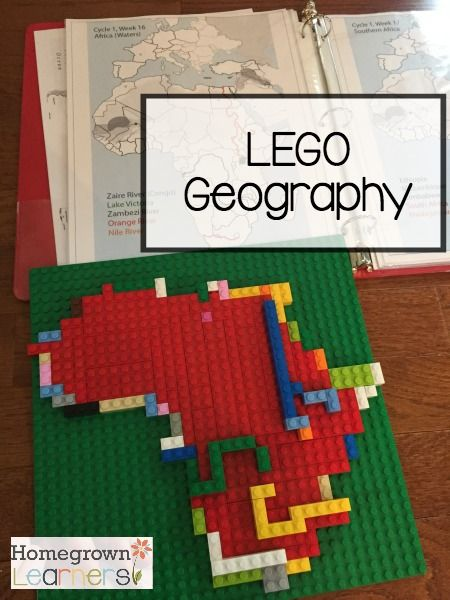 Lego Geography    As a Classical Conversations Foundations student, my son is currently  memorizing the names and locations of African waters (Cycle 1, Week 16).   Each week we always trace the map and...