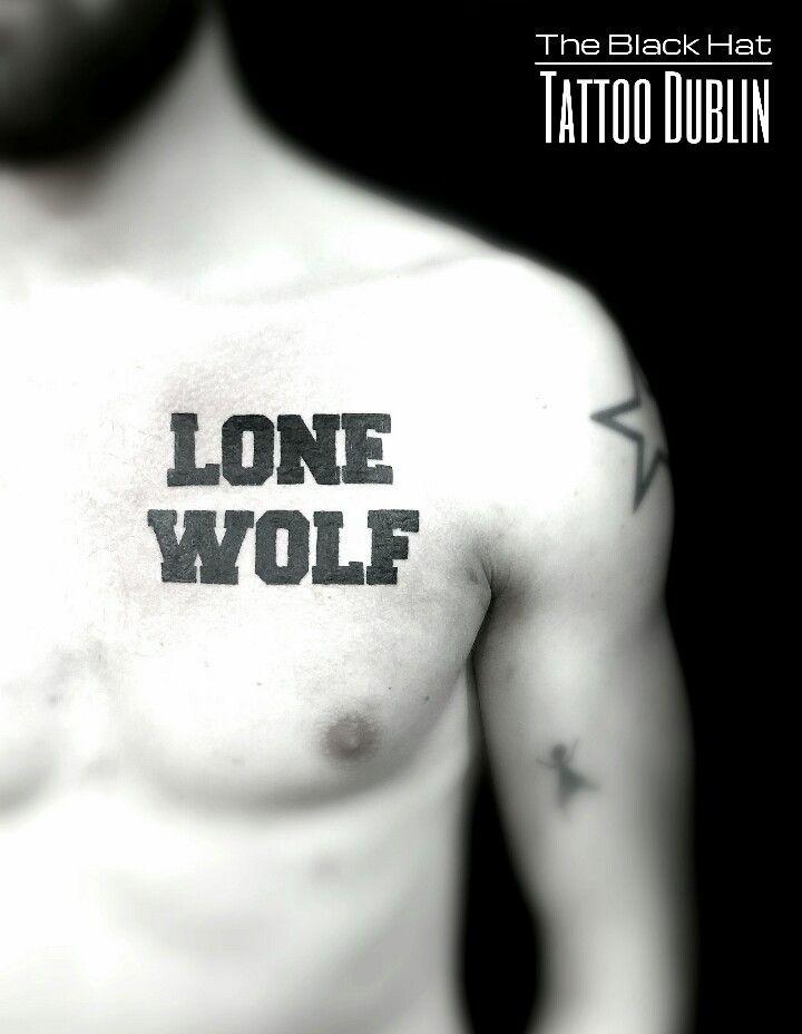 Tattoo dublin writting