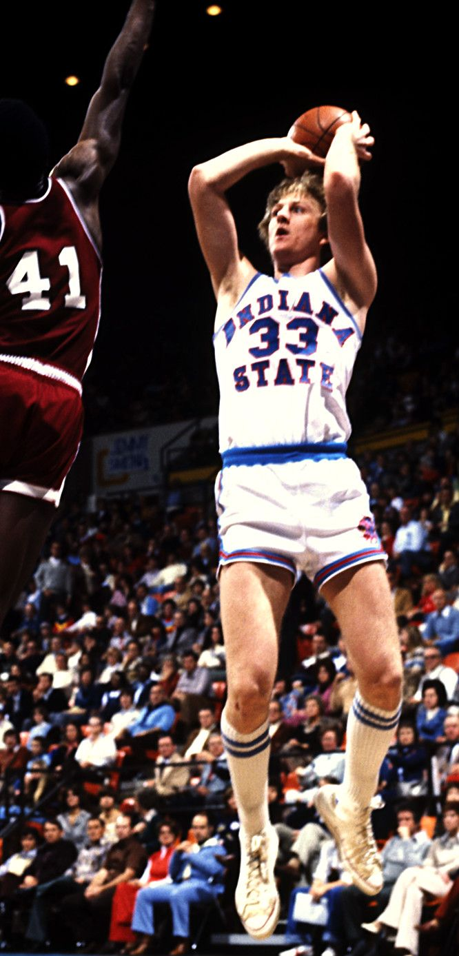 """Larry Bird. Check out the """"Chuck Taylors""""!!!"""