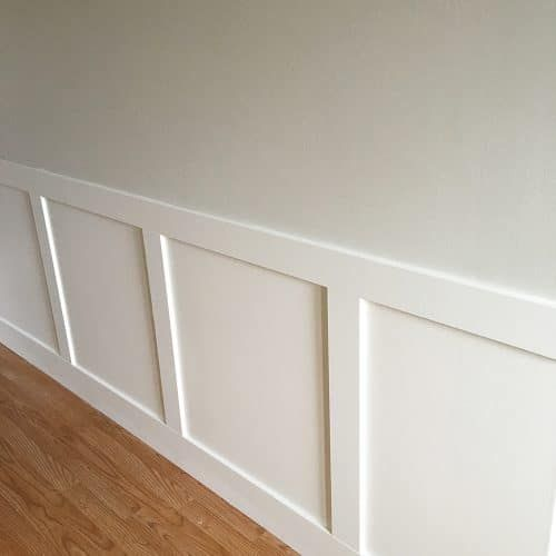 DIY Wainscoting Renovation. I Never Thought Installing Wainscotting Would  Be So Easy. Here Is