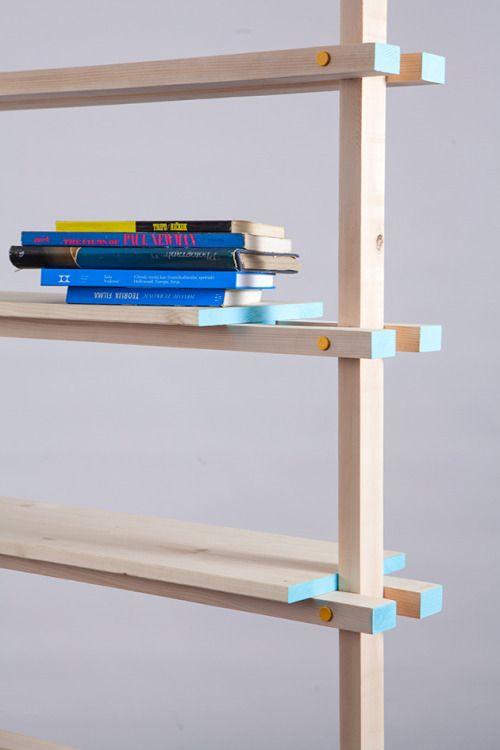 """milo–vs: """" Kozolec Furniture system by Niko Crnčević & Lucija Niceno """""""