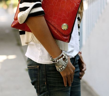 Fashion, Style, Clothing, Laptops Bagpur, Splashes Of Colors, Red Clutches, Black White Red, Bags, Stripes51Png 545363