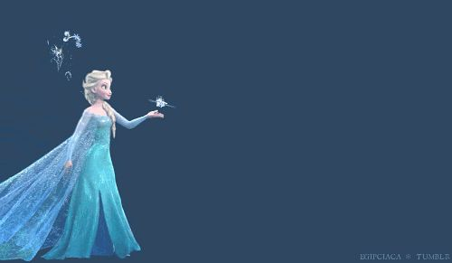 Download the #PIXIT app and message your friends with your favorite #Frozen #gifs!
