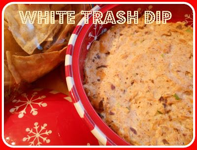 WHITE TRASH DIP: it's like crack dip on crack!