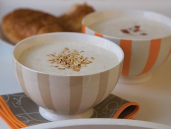 Toasted Oatmeal and Brown Sugar Shake recipe from chef Adam Ried