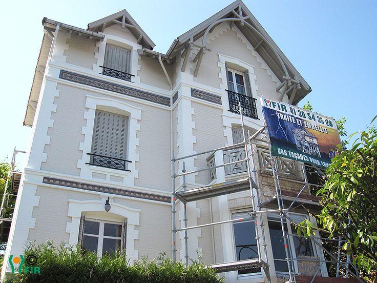 Fa ade classique jolie association de couleurs facades for Couleur de facade