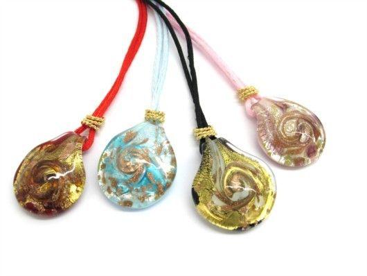 $26 Italian Murano Glass Pendant, info@bijuterie-online.ro