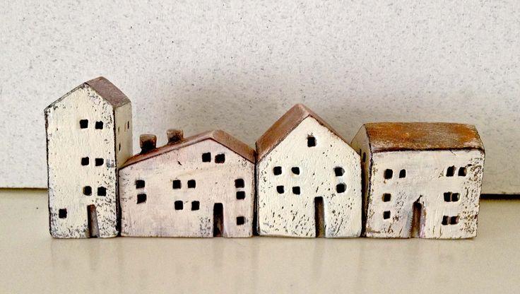 miniature ceramic houses                                                                                                                                                                                 More