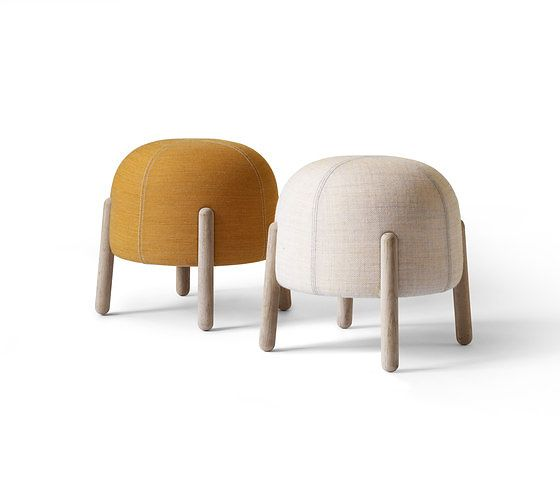 Busk + Hertzog Sally Stool - like the cuteness of these poofs/stools for playroom but maybe they aren't comfortable enough?