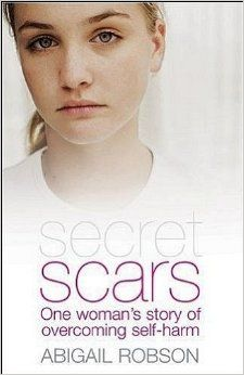 One woman's story of finding freedom from self harm, through Christ. http://www.amazon.co.uk/gp/product/1850787212?keywords=secret+scars&qid=1447063023&ref_=sr_1_1&sr=8-1